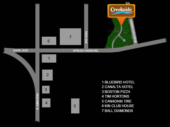 Creekside map to get there 2